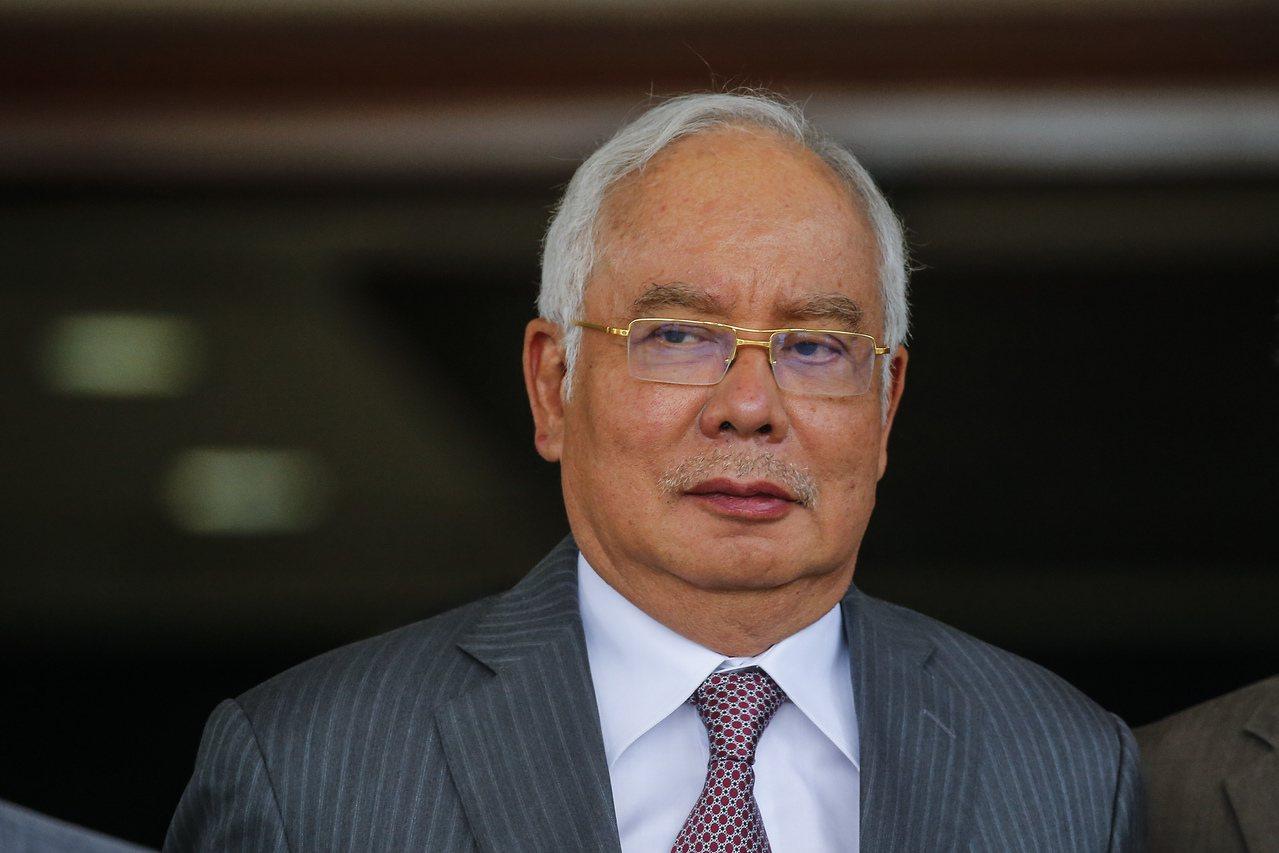 馬來西亞前首相納吉(Najib Razak)。 歐新社