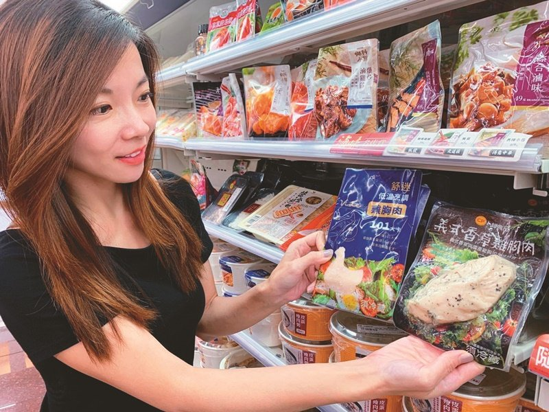 超商即食雞胸肉吸引想要吃得健康卻無法自行備餐的消費者 圖/7-ELEVEN提供
