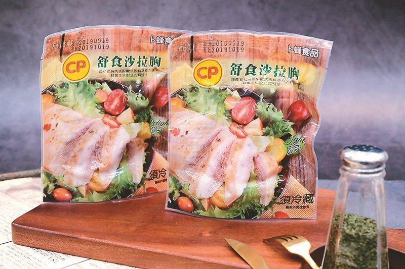 萊爾富「卜蜂舒食沙拉胸」單月狂銷超過10萬份 圖/萊爾富提供