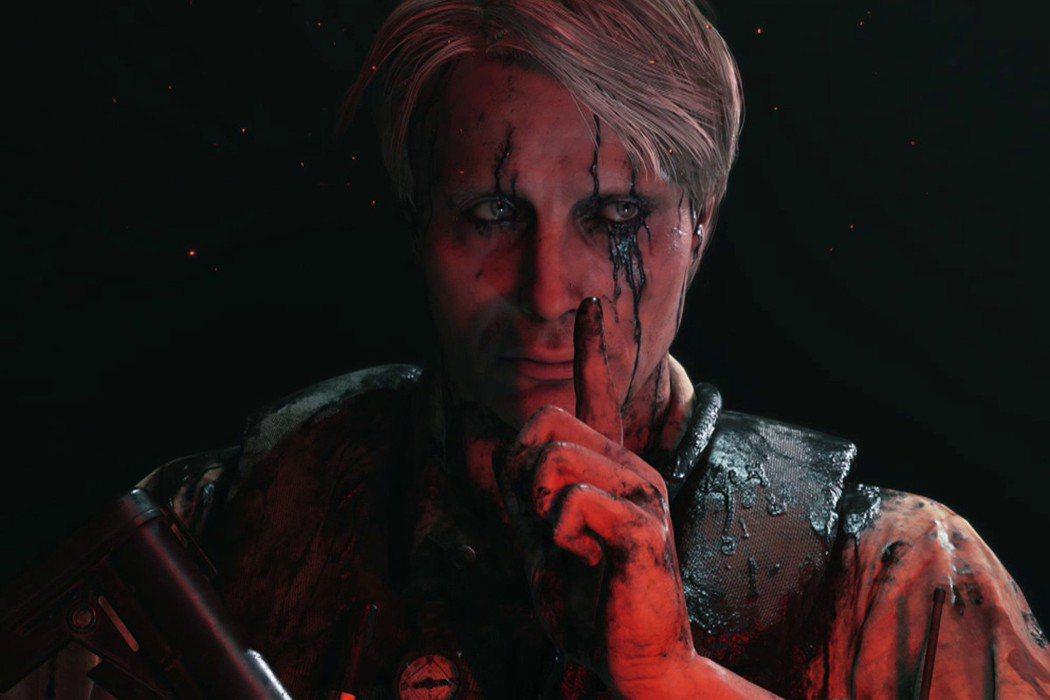 Mads Mikkelsen在遊戲《死亡擱淺》飾演的角色。