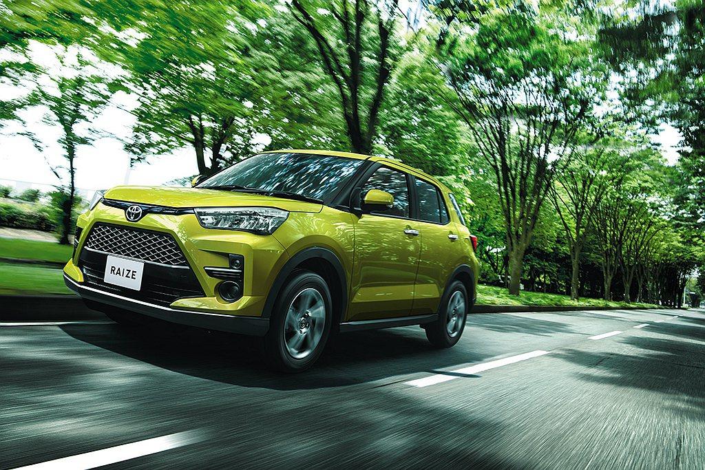 Toyota Raize為集團內TNGA-B模組化底盤平台第二款作品,車身尺碼為...