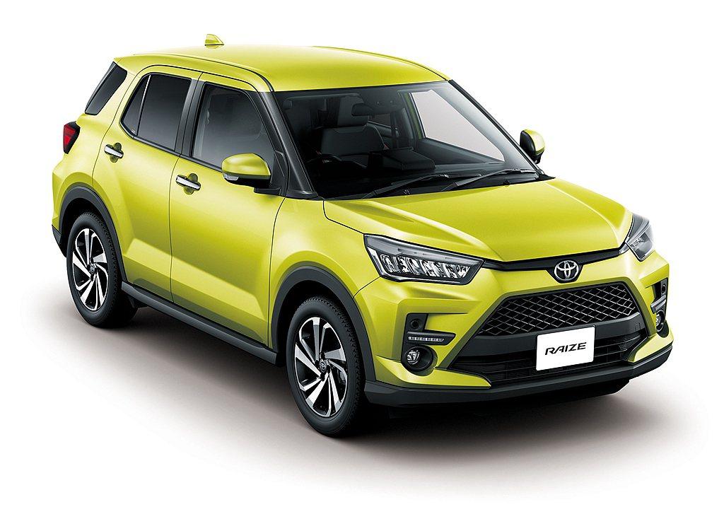 日規Toyota Raize動力搭載1.0L直列三缸渦輪增壓汽油引擎,可提供98...