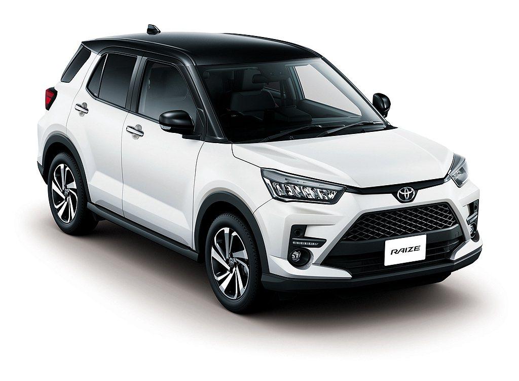 日規Toyota Raize高階車型升級ACC全速域主動式車距維持定速系統(附追...