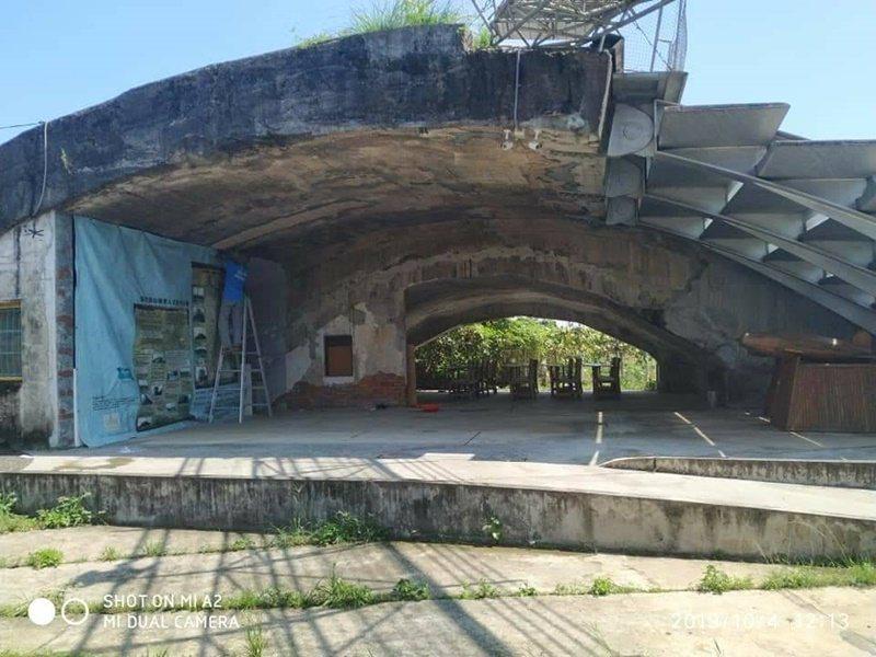 員山機堡藏著許多動人的太平洋戰爭故事,也警示著世人。 圖/楊基山提供