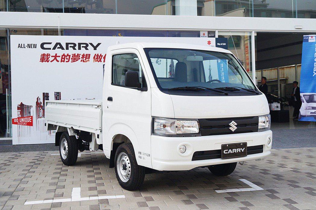 SUZUKI All-New Carry。 記者趙駿宏/攝影