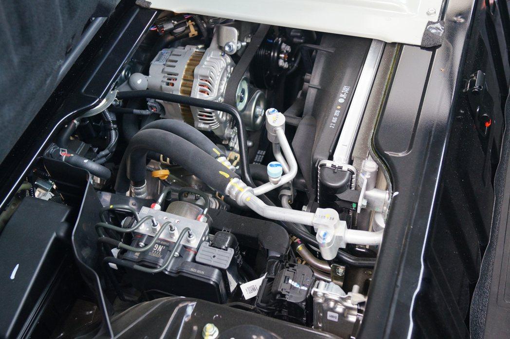 1.5升輕量化4缸引擎,擁有96匹馬力與相當不錯的13.8kgm 扭力。 記者趙...