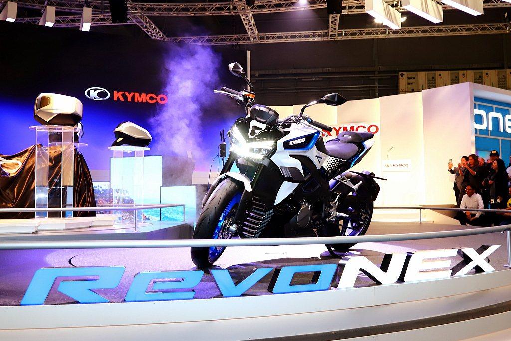 電動全域加速性(KYMCO EFA)的設計是植基於騎士們對「意之所至,動力即來」...