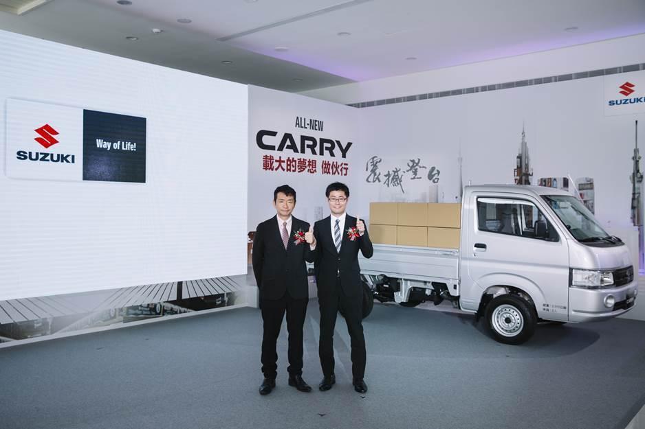 (左)TAIWAN SUZUKI鈴木忠臣 董事長 (右)TAIWAN SUZUK...