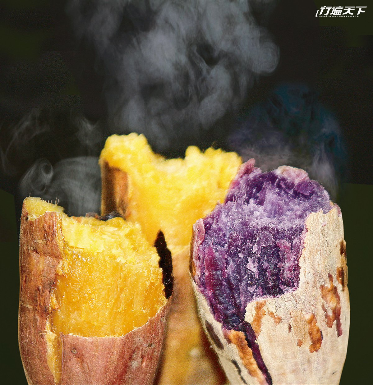 種子島名物安納芋,生的時候已經高達16級,蒸煮後甜度更提高到40-50度,被稱為...