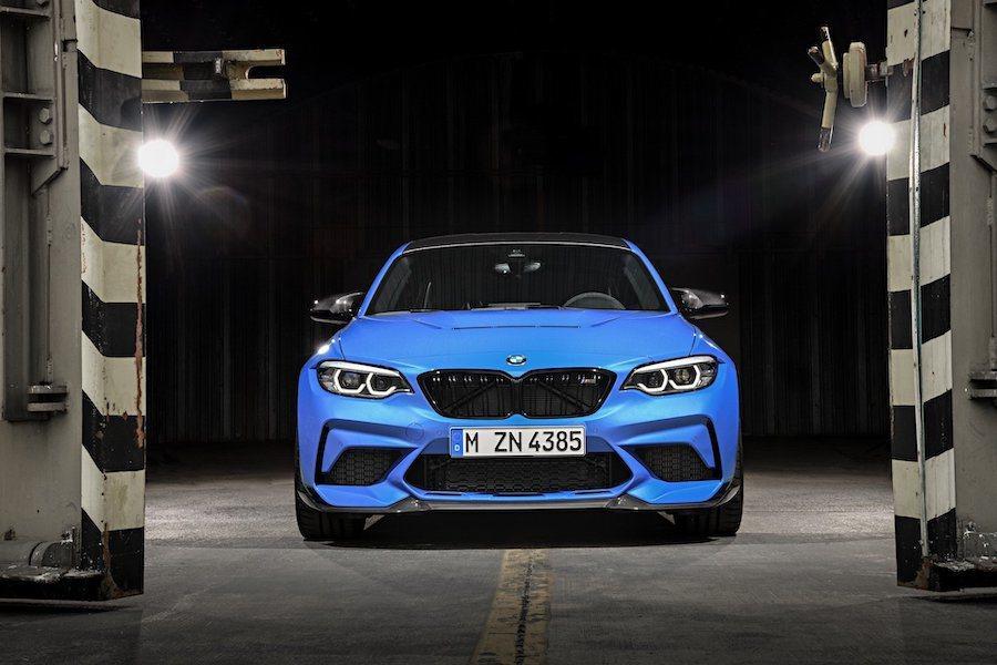 全新BMW M2 CS。 BMW提供