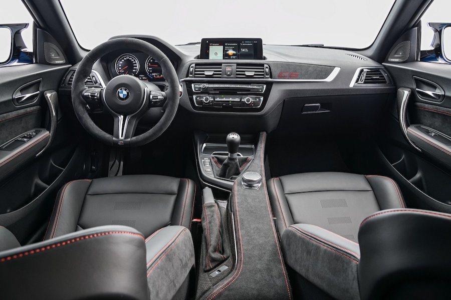 全新BMW M2 CS內裝。 BMW提供