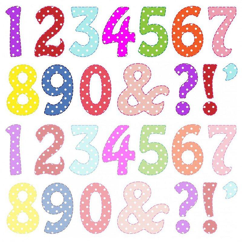 部分人可看見「數字」各自代表顏色。圖/Pixabay