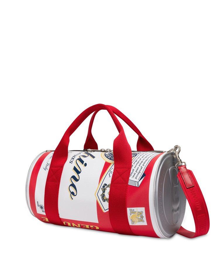 啤酒造型手提包,53,300元。圖/MOSCHINO提供