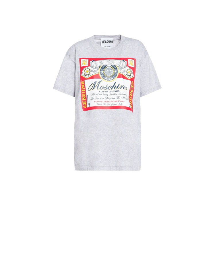 Oversize T-shirt,11,300元。圖/MOSCHINO提供