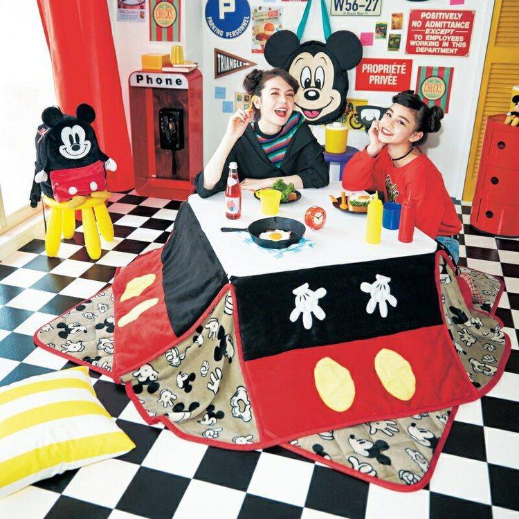 明星商品「米奇暖桌」兼實用與美觀性。圖/取自Belle Maison