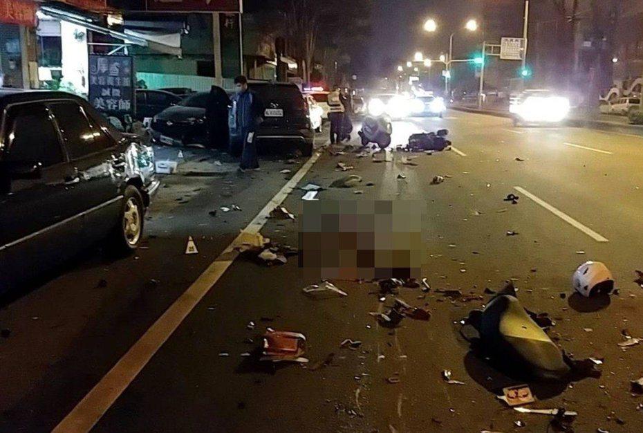 今年農曆過年前,酒駕被吊銷駕照的陳男,在大里區撞死騎機車的彭姓大學生、鄭姓女子,震驚國人。 圖/聯合報系資料照片