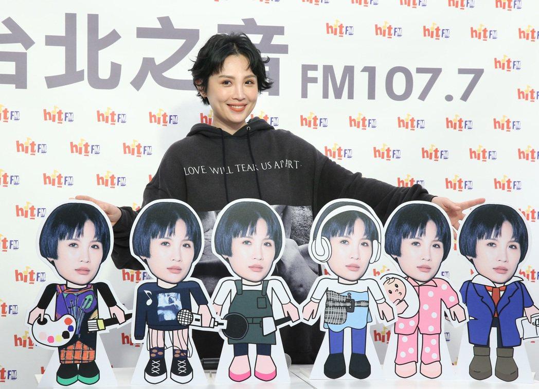 魏如萱暌違3年,將推出新專輯「藏著並不等於遺忘」。記者林澔一/攝影