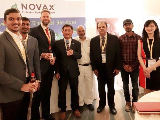 對於諾瓦提出的創新解決方案與商業模型,現場引起印度多家大型企業的高度關注,並於會...