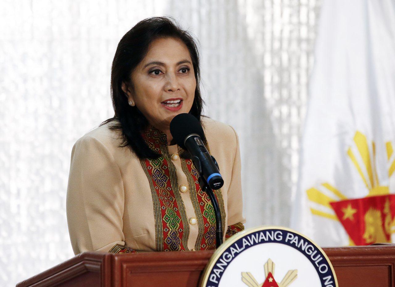 菲律賓副總統羅貝多。 歐新社