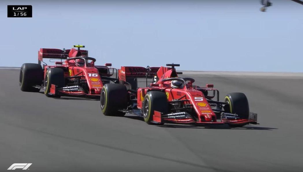 兩輛紅軍排位跑得不錯,正賽則是不盡人意。 摘自F1