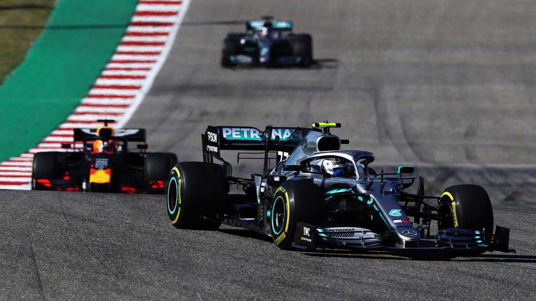 Bottas在排位賽時表現絕佳。 摘自F1