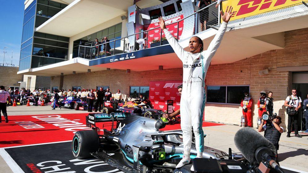 6屆F1世界冠軍Lewis Hamilton。 摘自F1