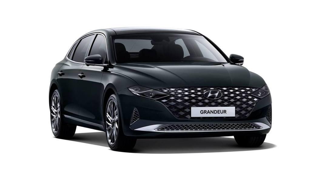 小改款Hyundai Grandeur目前已在韓國開放預售。 摘自Hyundai