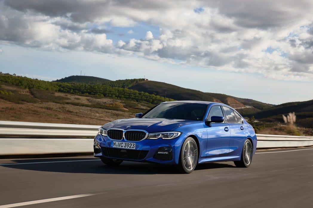 2020年式BMW 320i M Sport首發版搶先登場。 圖/汎德提供