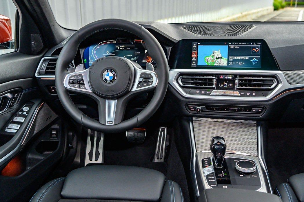 完美融合駕駛導向與智能科技,全新世代BMW 320i M Sport搭載前衛的B...