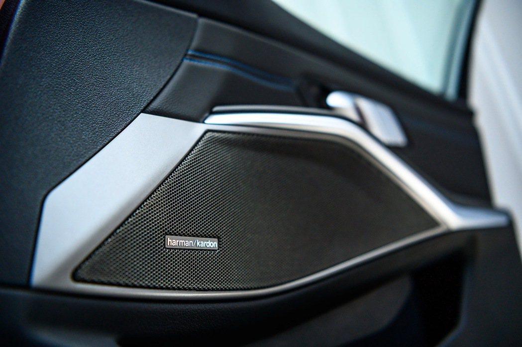 全新世代BMW 320i M Sport首發版高規格升級具備16支音響揚聲器的「...