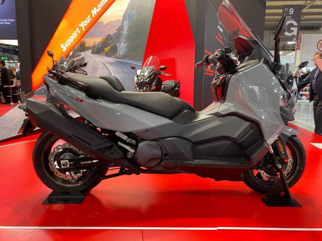 台灣熱銷的Maxsym TL也在歐洲上市銷售,評價甚高。 SYM/提供