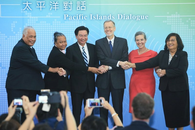 10月7日,台灣與美國首屆「太平洋對話」在台北登場,顯示更緊密而公開的雙邊政府合作關係。 圖/聯合報系資料照