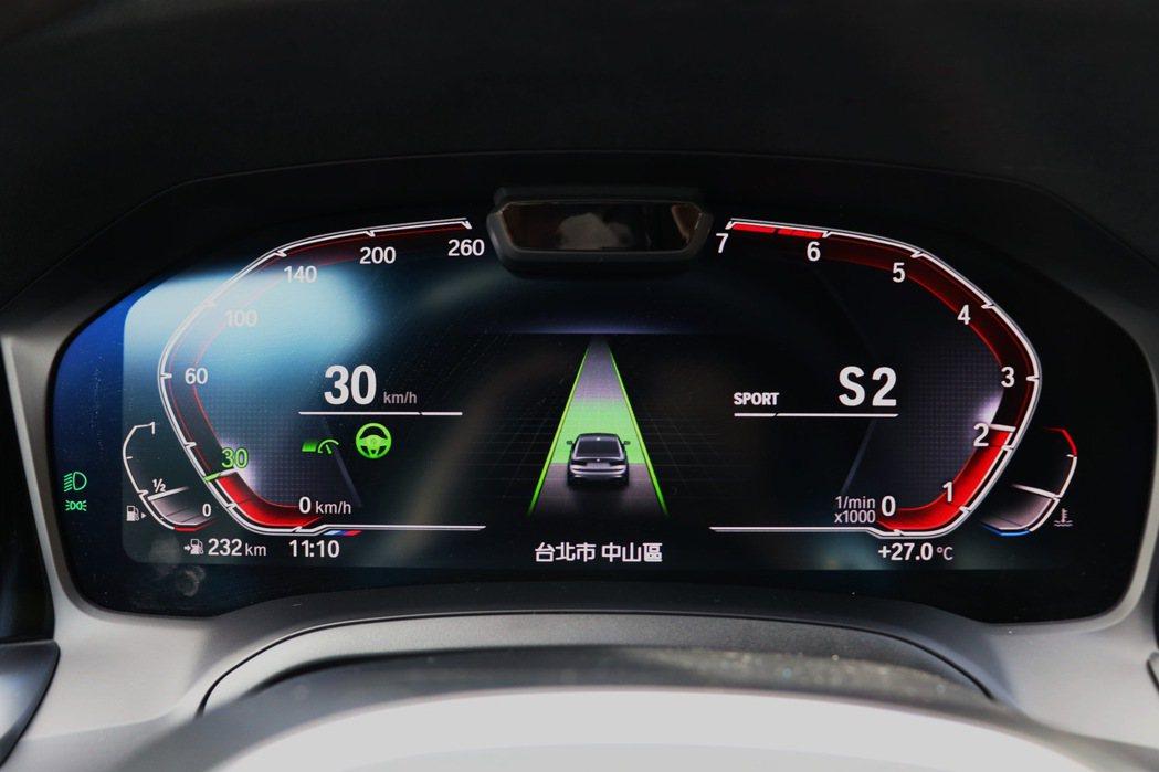 全新BMW 3系列房車標配具備Level 2半自動駕駛的主動車距定速控制系統及主...