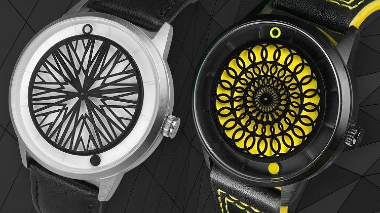 Humism動態藝術錶。 圖/有.設計uDesign 提供