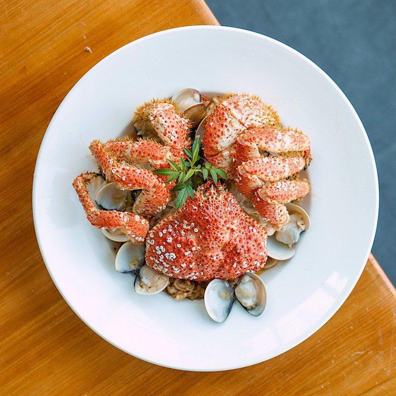 ▲ 鮮蛤雪蟹蝦膏燉飯(季節限定)