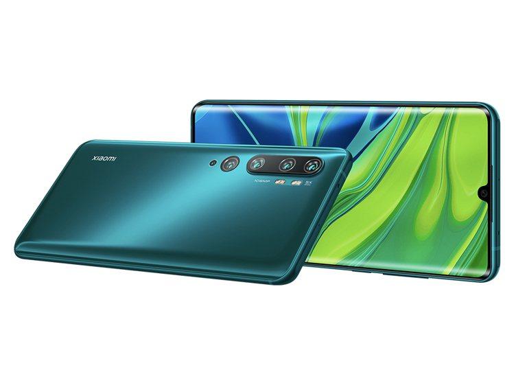 小米發布全球首款1億畫素量產手機小米CC9 Pro,預計12月初公布更詳細在台灣...