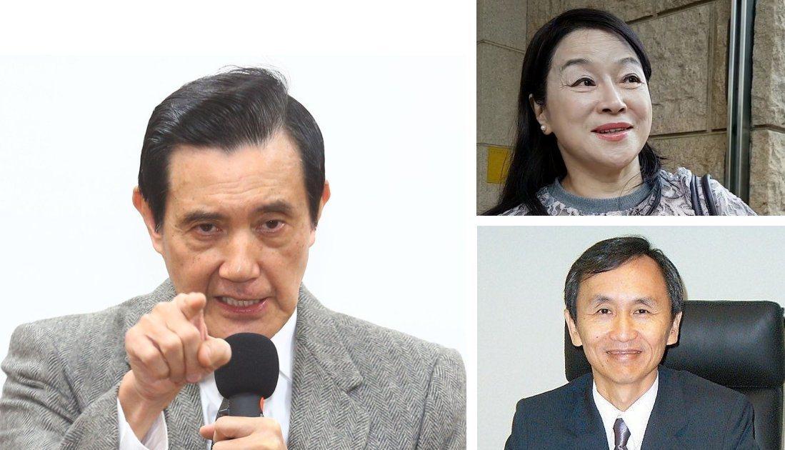 前總統馬英九(左圖)認為美麗島電子報副董事長吳子嘉(右下)言論不實,提告求償,高...