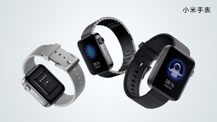 小米手表共推出鋁合金表殼的標準版,以及不鏽鋼材質的尊享版。圖/小米台灣提供