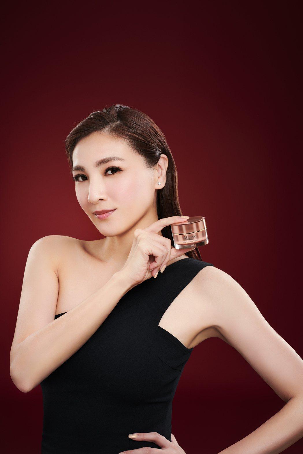 陳思璇擔任保養品牌美麗大使。圖/星漾國際提供