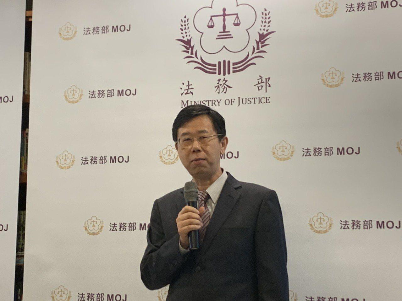 調查局長呂文忠。記者賴佩璇/攝影。