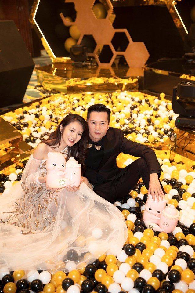 安以軒與老公為兒66舉辦4個月百日宴。圖/摘自臉書