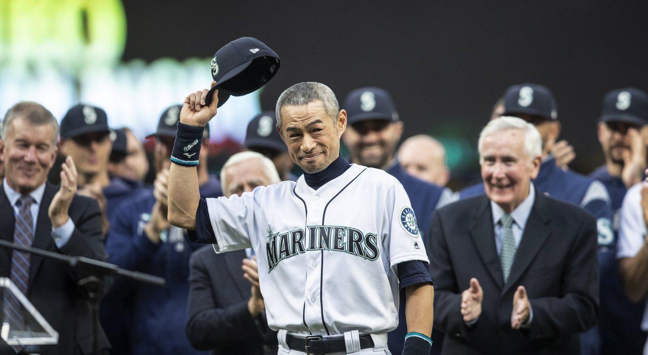 日本職棒選手鈴木一朗今年3月宣布退休。(美聯社)