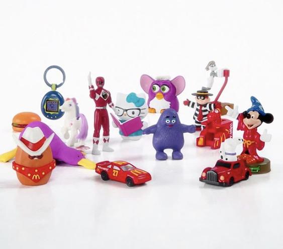 麥當勞經典玩具大回歸,成功引起粉絲注意。圖/取自IG:mcdonalds