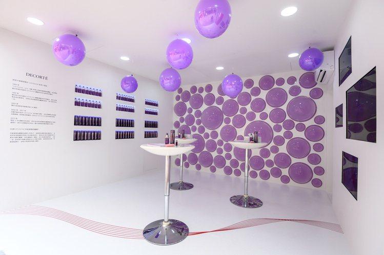 黛珂讓消費者更認識大、小紫瓶。圖/黛珂提供