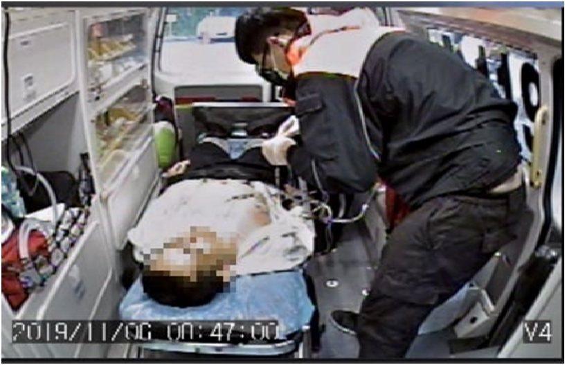 台東縣消防局知本消防分隊今早執行「護心計畫」,成功救回1名急性心肌梗塞中年男子。...