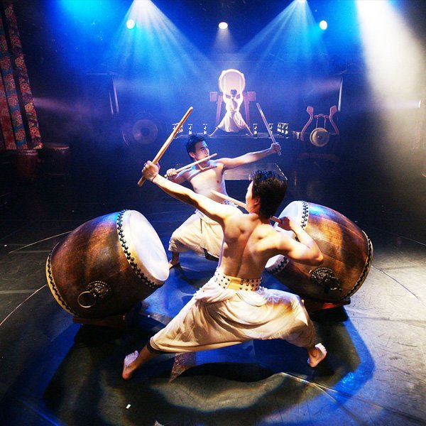 藝術文化之地「十鼓仁糖文創園區」,為觀眾帶來精彩太鼓演出。圖/取自十鼓仁糖文創園...