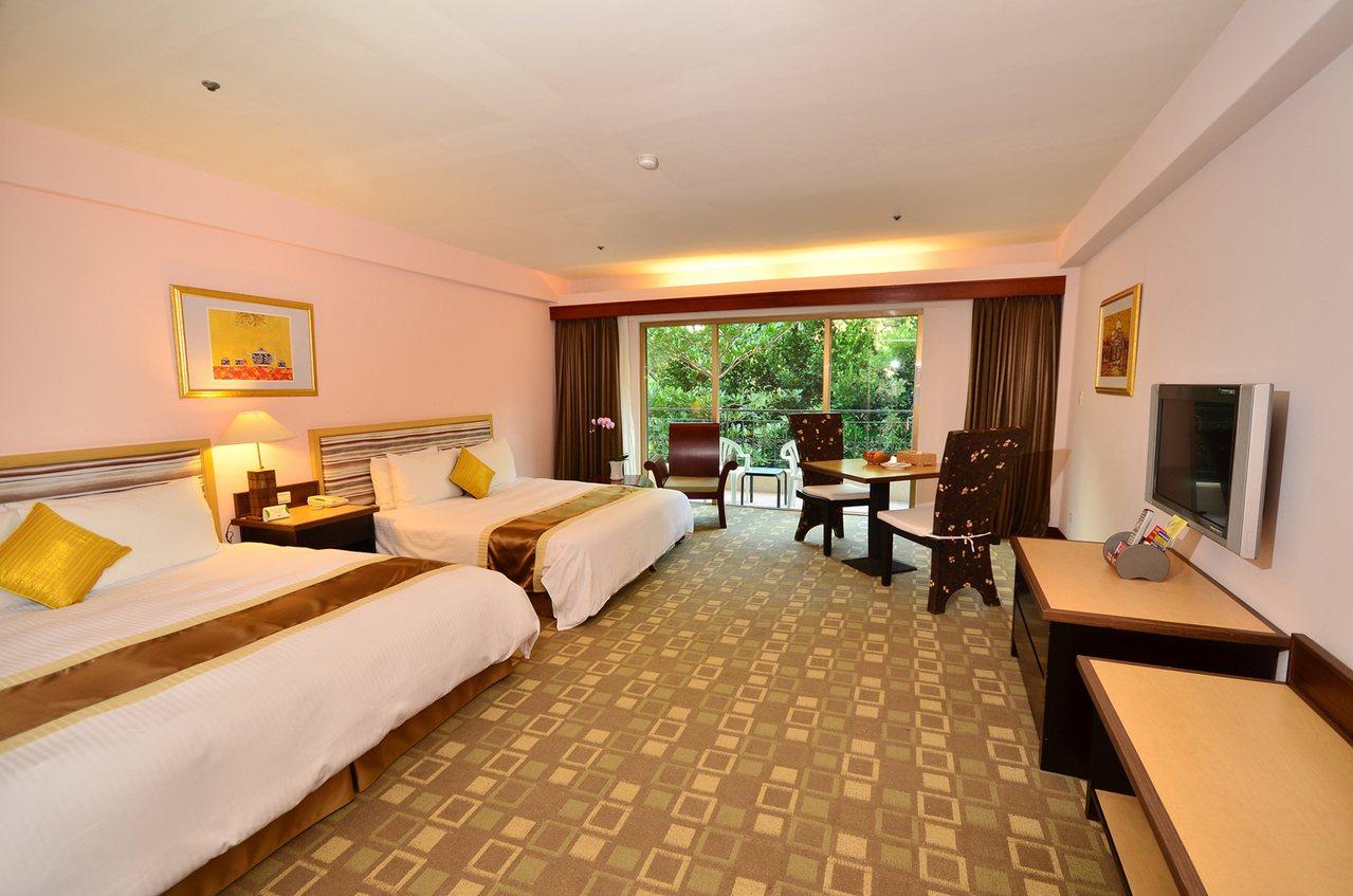 墾丁福華度假飯店在旅展期間針對住宿推出優惠,最低4折起。圖/墾丁福華度假飯店提供
