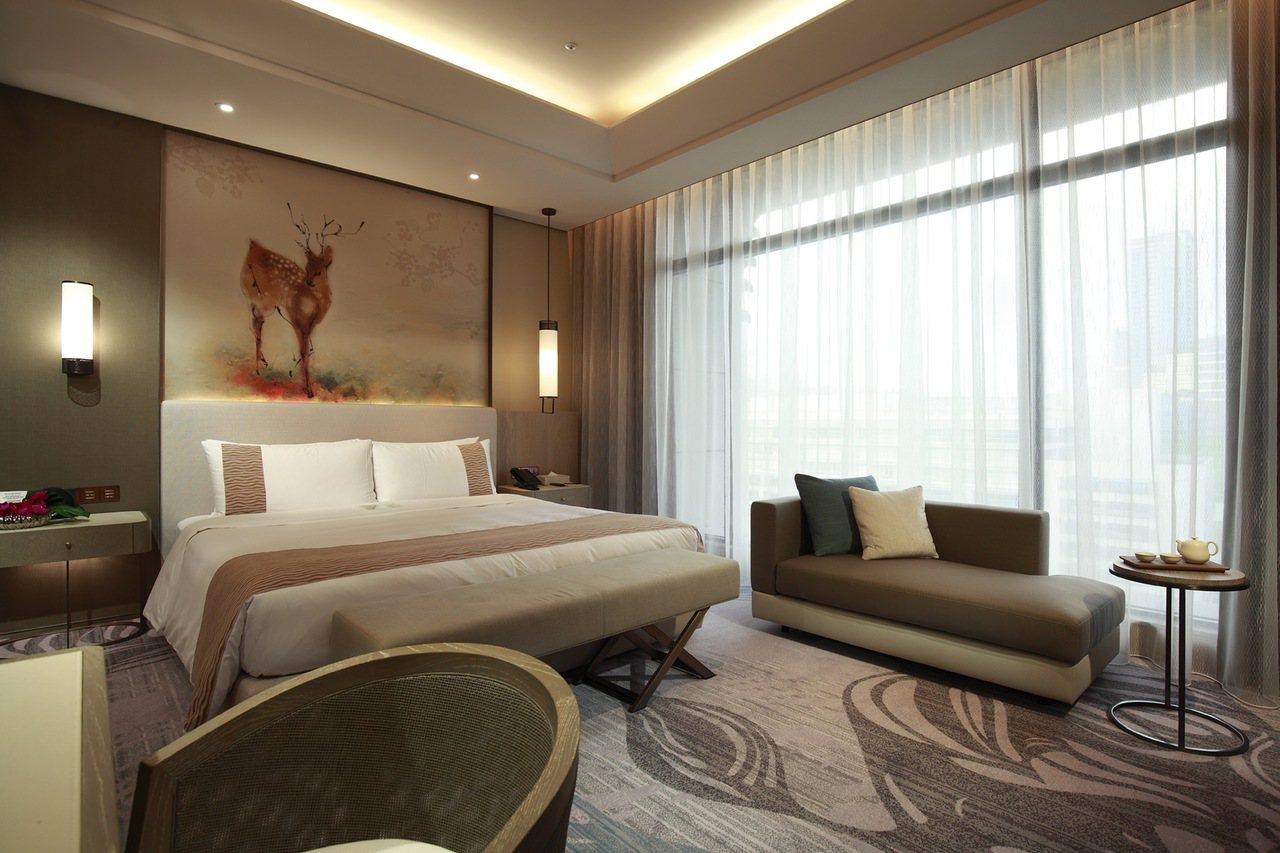 台北美福飯店推出行政客房優惠特價7千有找。圖/台北美福飯店提供