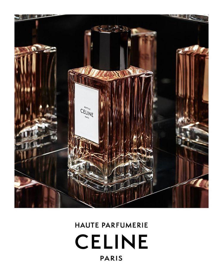 CELINE的香水以純粹鮮明的瓶身線條、香氛結構打造而成。圖/取自IG