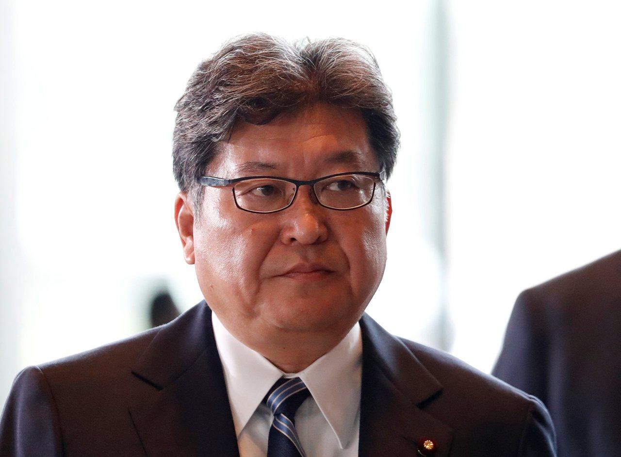 日本文部科學大臣萩生田光一。(路透)